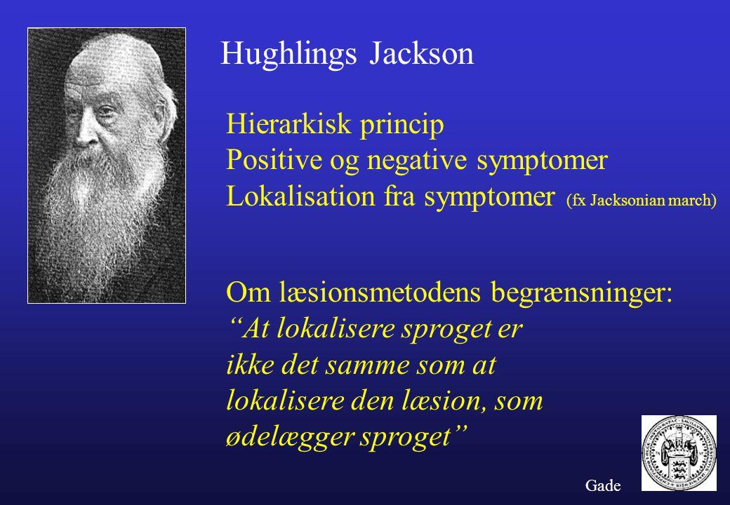 Hughlings Jackson Hierarkisk princip