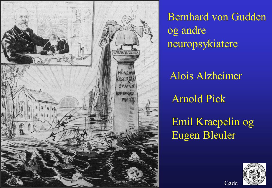 Bernhard von Gudden og andre neuropsykiatere