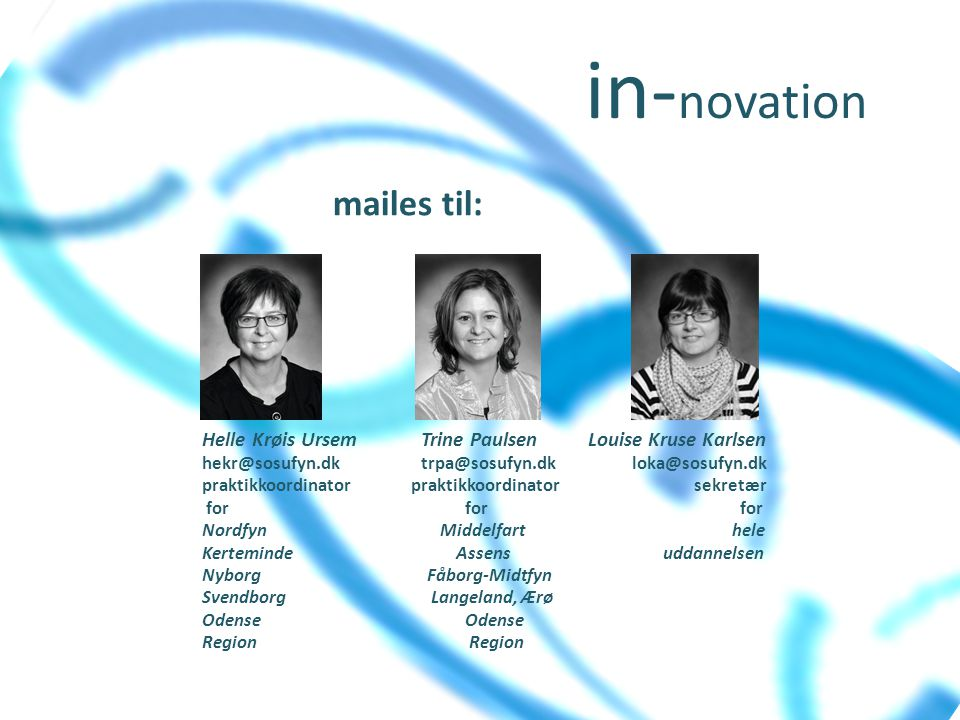 in-novation mailes til: