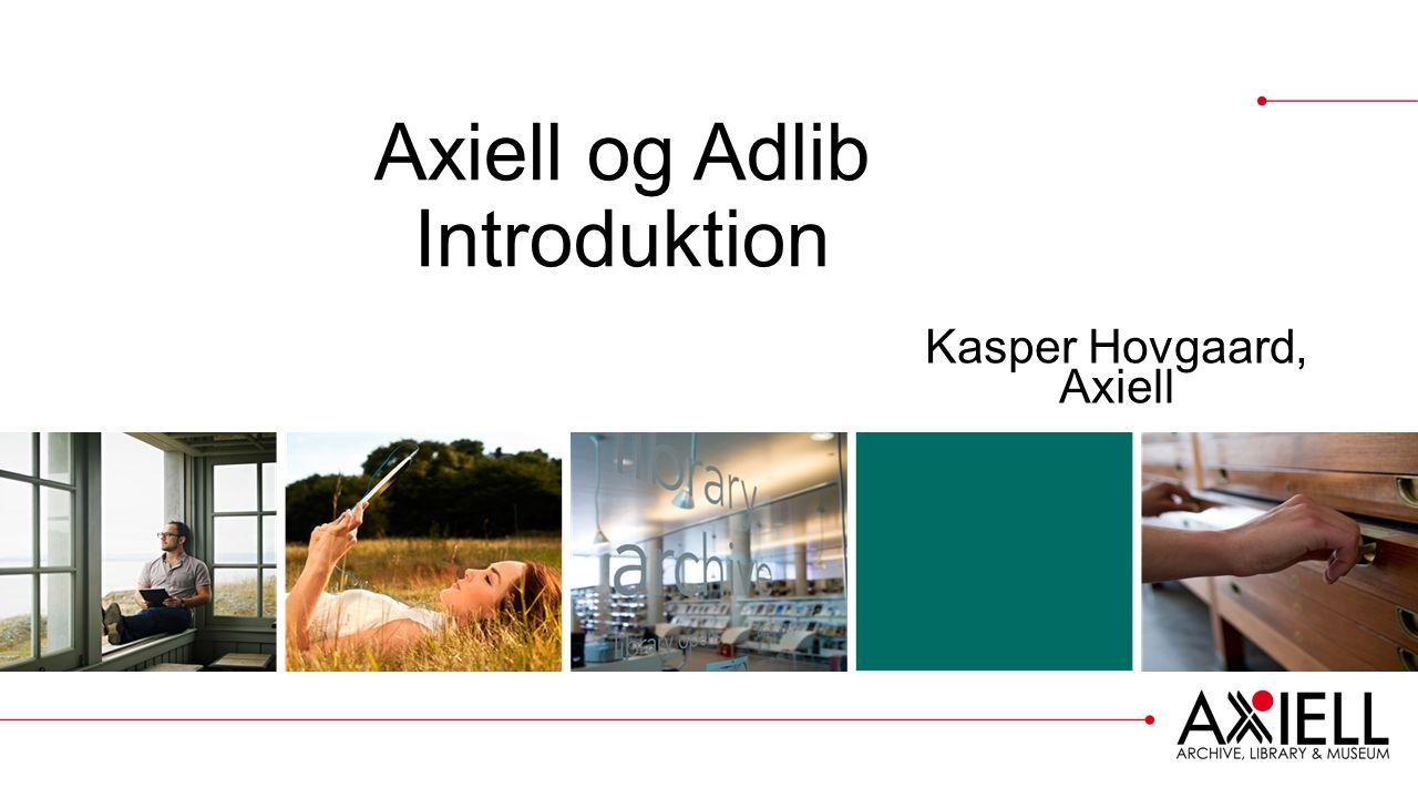 Axiell og Adlib Introduktion