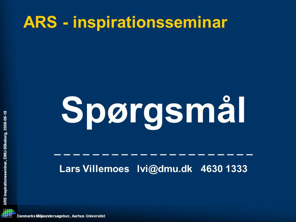 ARS - inspirationsseminar