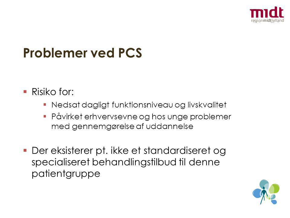 Problemer ved PCS Risiko for: