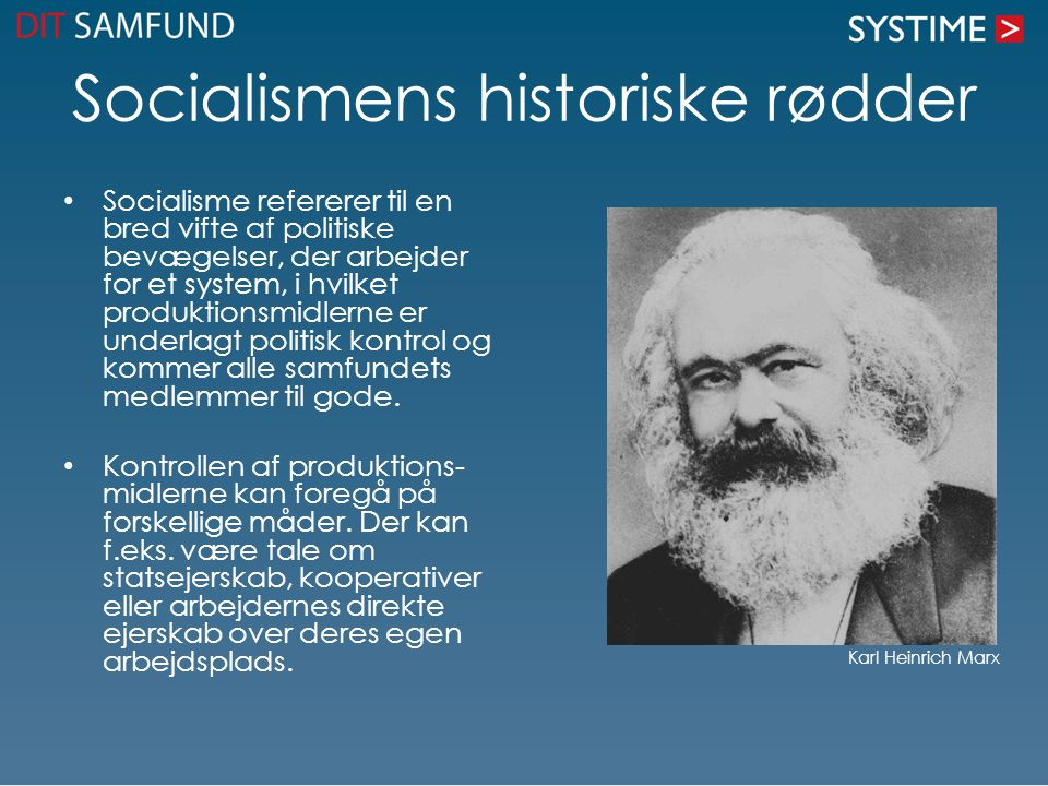 Socialismens historiske rødder