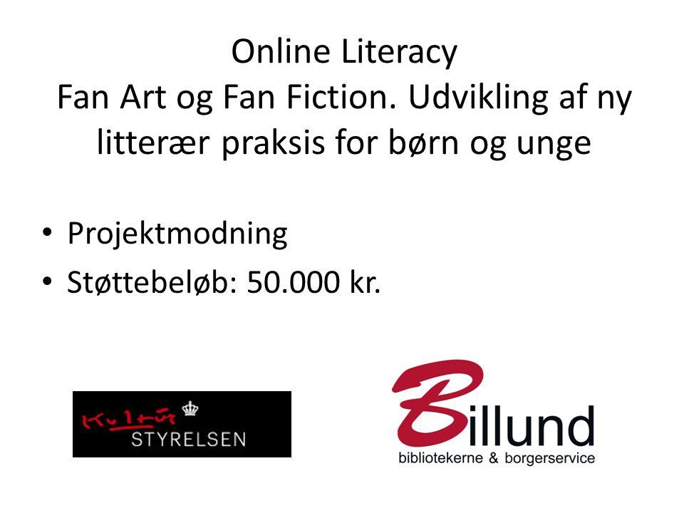 Online Literacy Fan Art og Fan Fiction