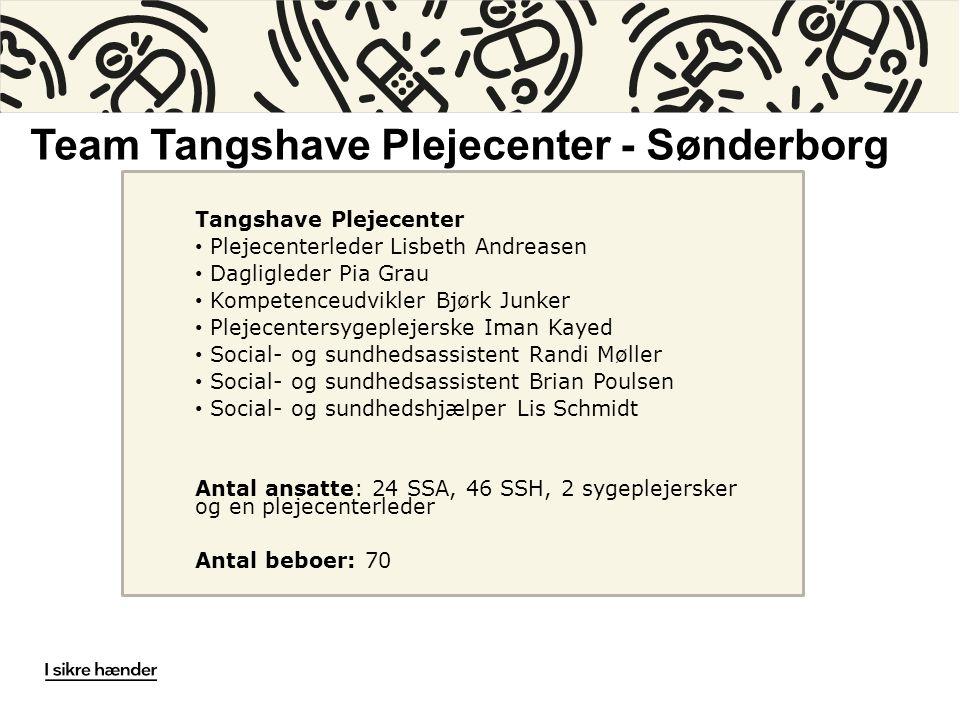 Team Tangshave Plejecenter - Sønderborg