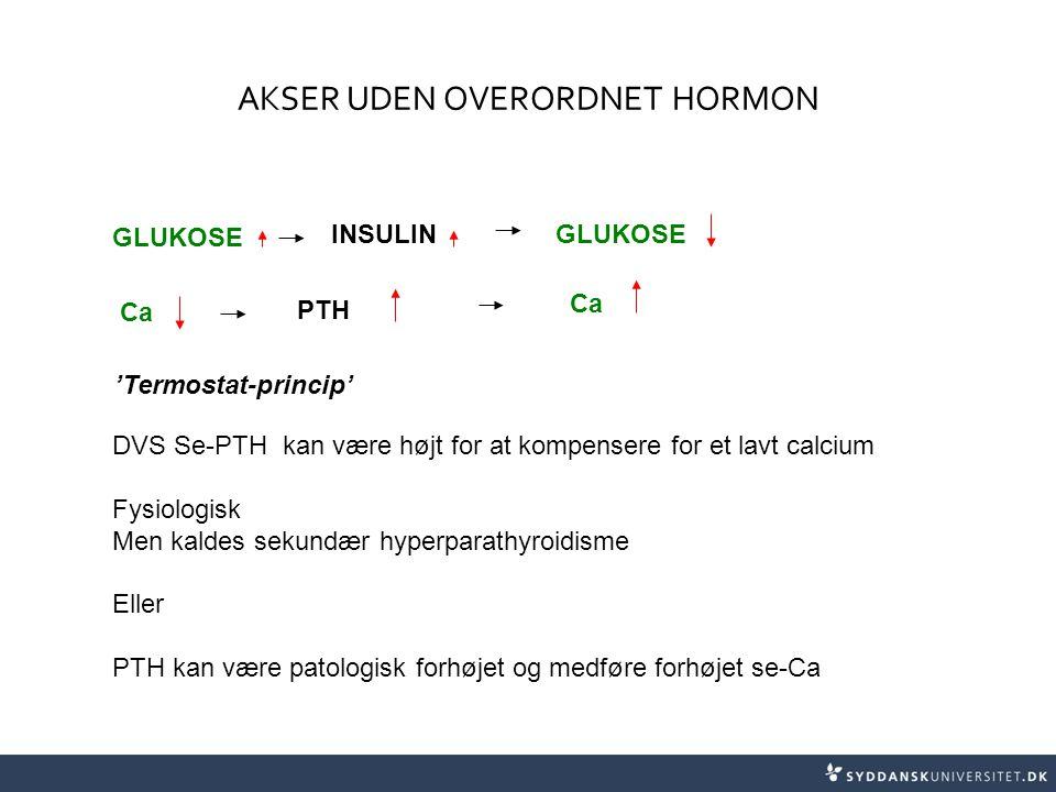 AKSER UDEN OVERORDNET HORMON
