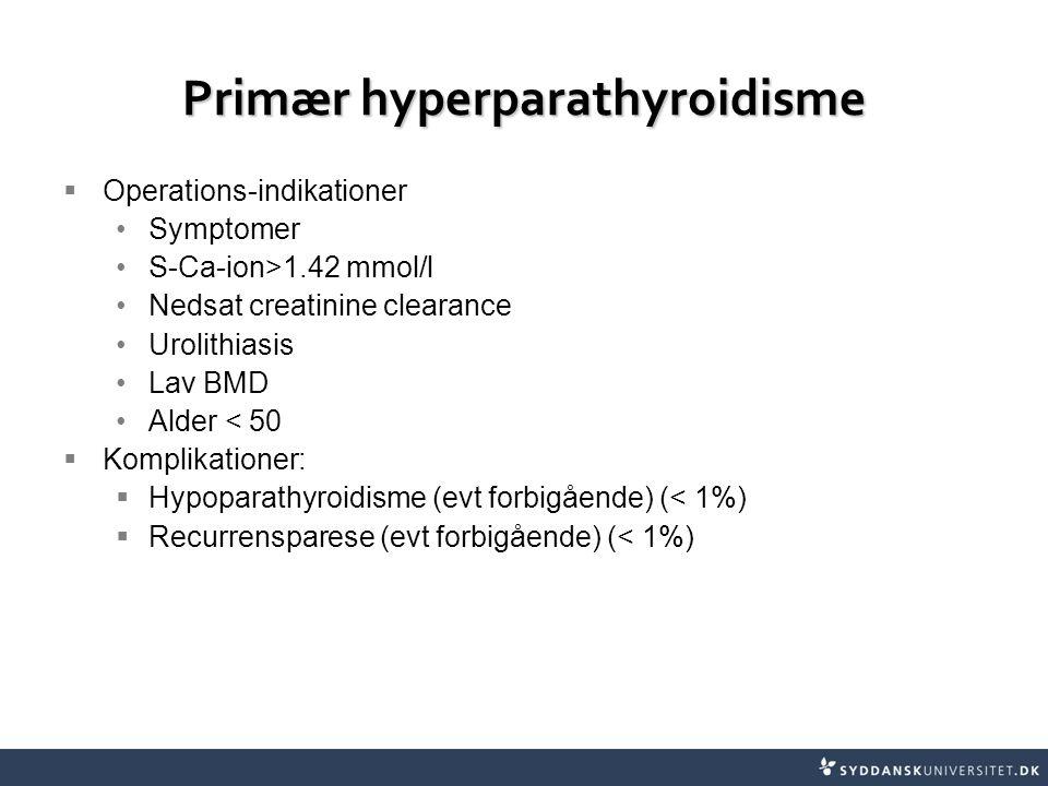 Primær hyperparathyroidisme