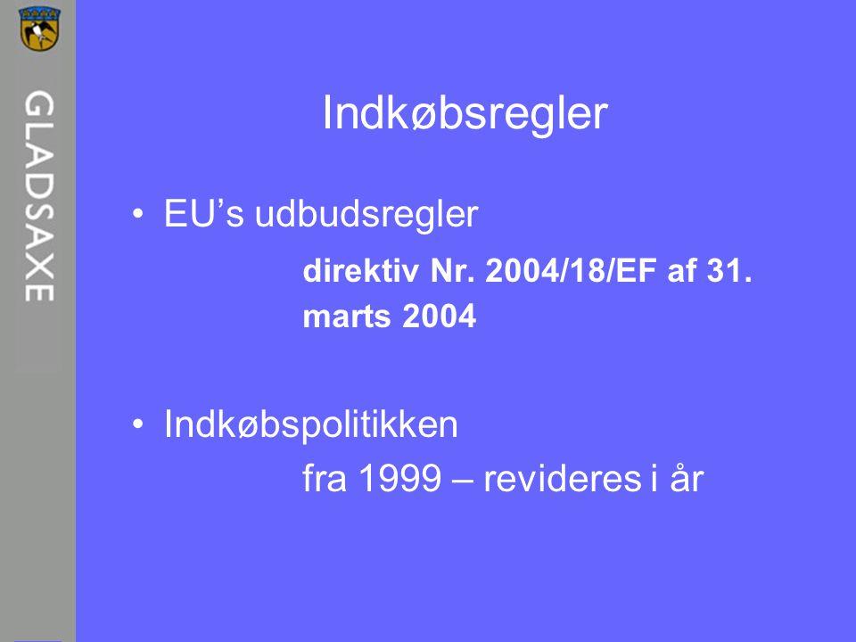 Indkøbsregler EU's udbudsregler