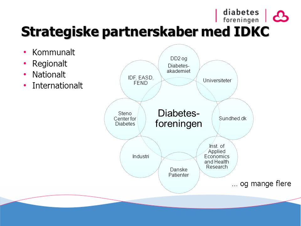 Strategiske partnerskaber med IDKC