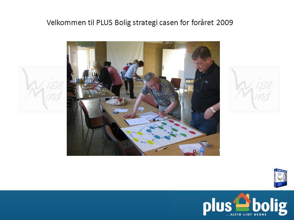 Velkommen til PLUS Bolig strategi casen for foråret 2009