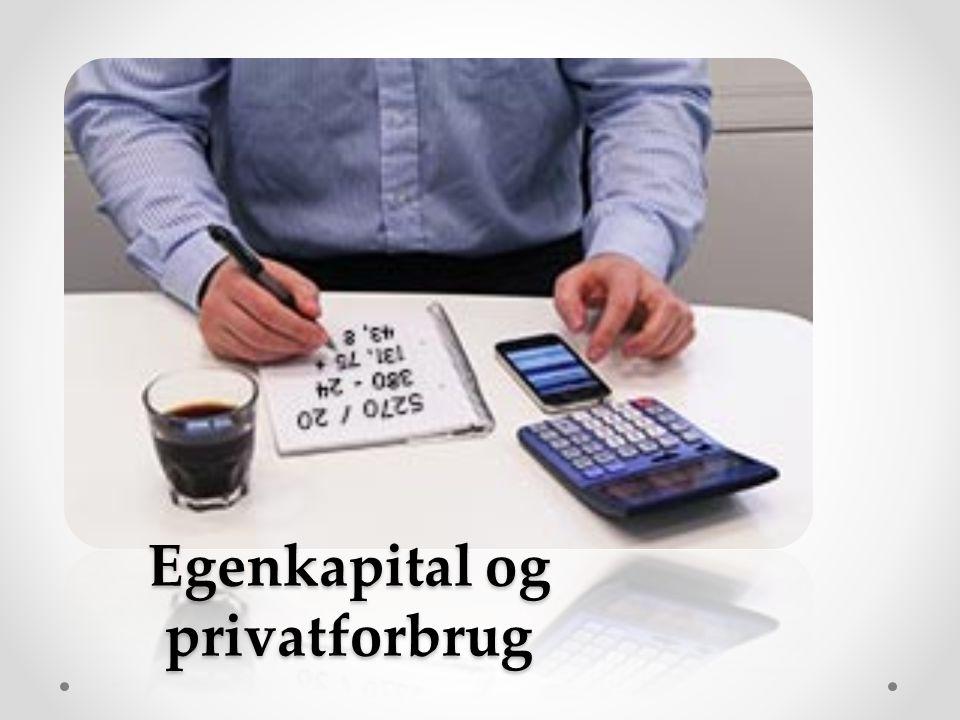 Egenkapital og privatforbrug