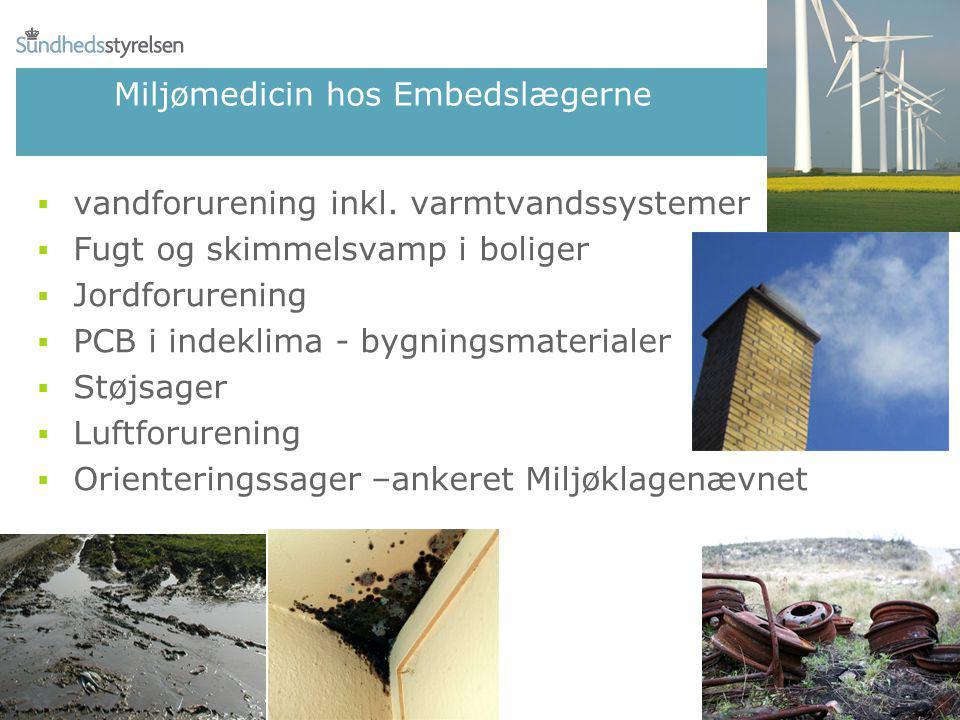 Miljømedicin hos Embedslægerne