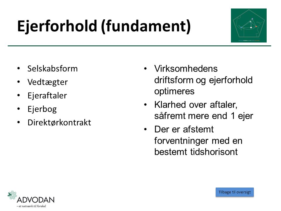 Ejerforhold (fundament)
