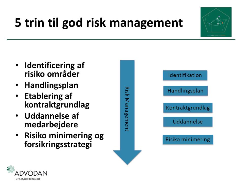 5 trin til god risk management