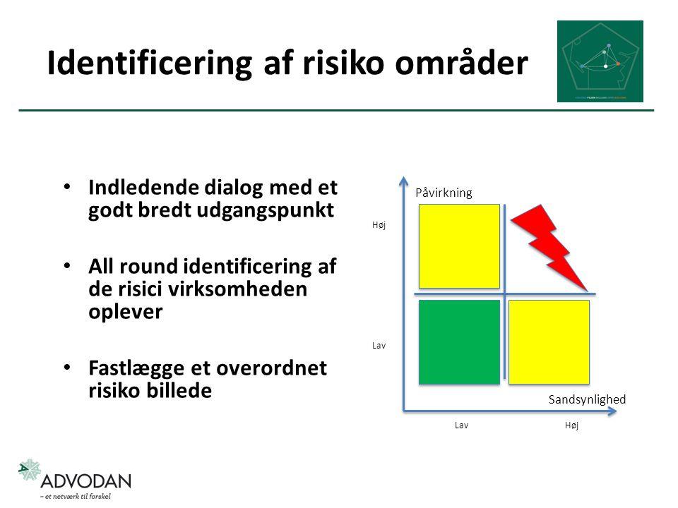 Identificering af risiko områder
