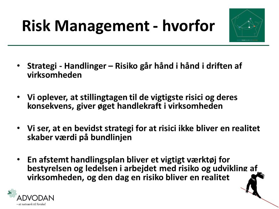 Risk Management - hvorfor