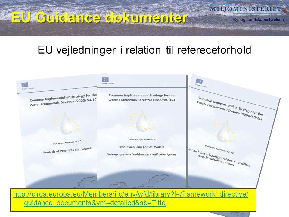 EU vejledninger i relation til refereceforhold