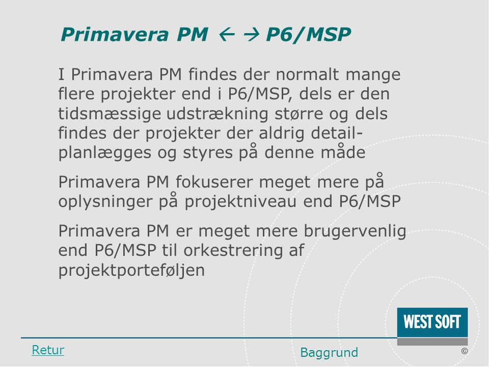 Primavera PM   P6/MSP