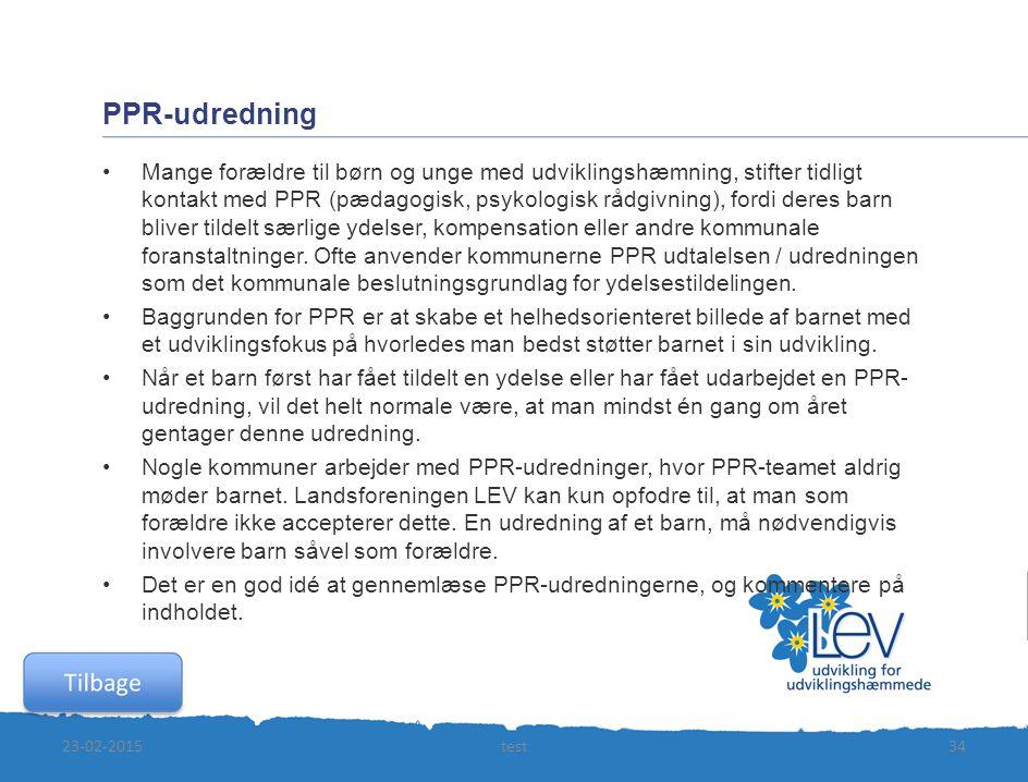 PPR-udredning