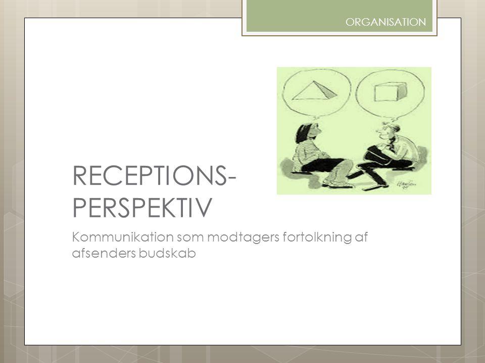 RECEPTIONS- PERSPEKTIV