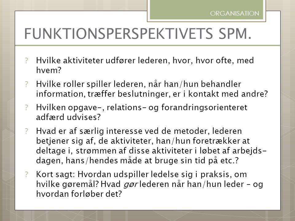 FUNKTIONSPERSPEKTIVETS SPM.