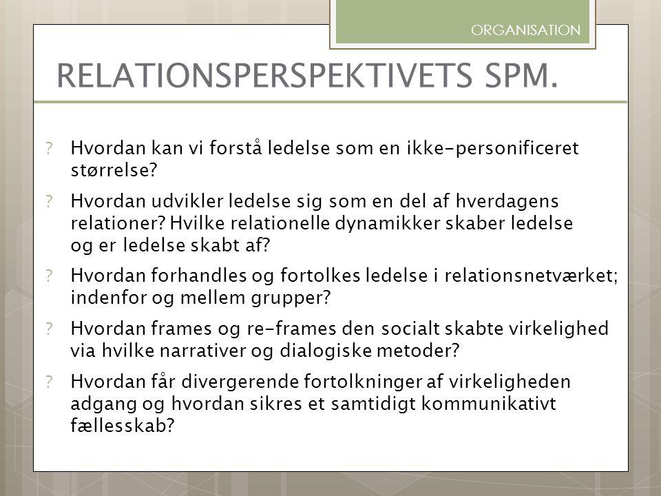 RELATIONSPERSPEKTIVETS SPM.
