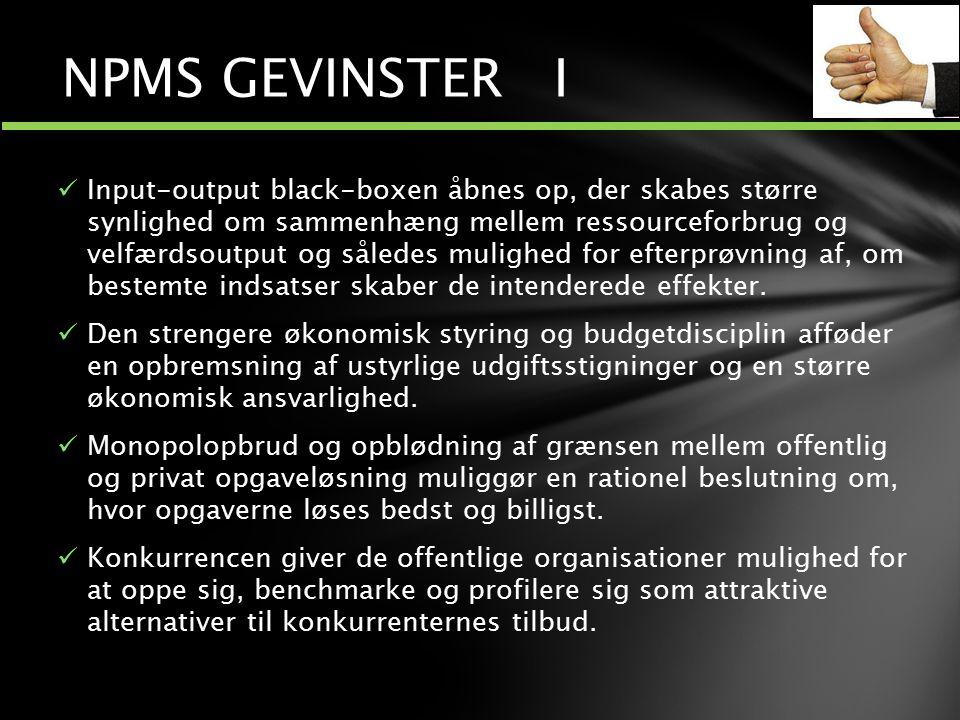 NPMS GEVINSTER I
