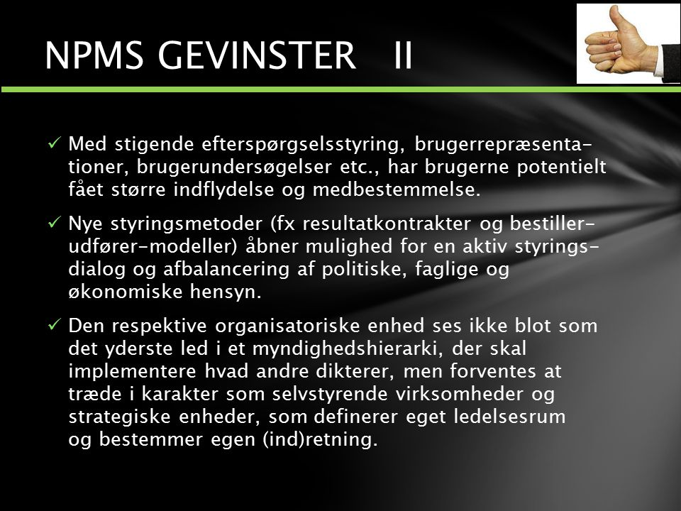 NPMS GEVINSTER II