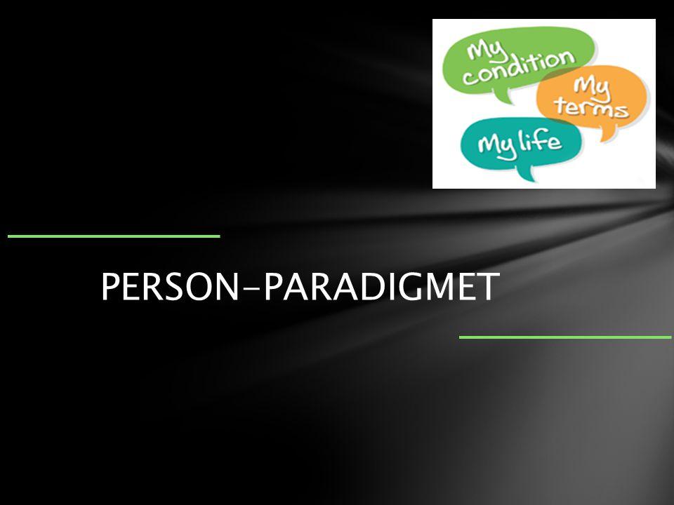 PERSON-PARADIGMET PERSON-PARADIGMET Diagnostisk tese