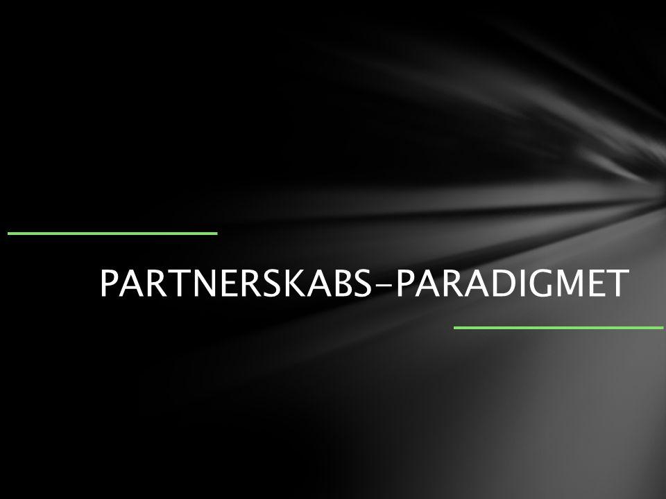 PARTNERSKABS-PARADIGMET