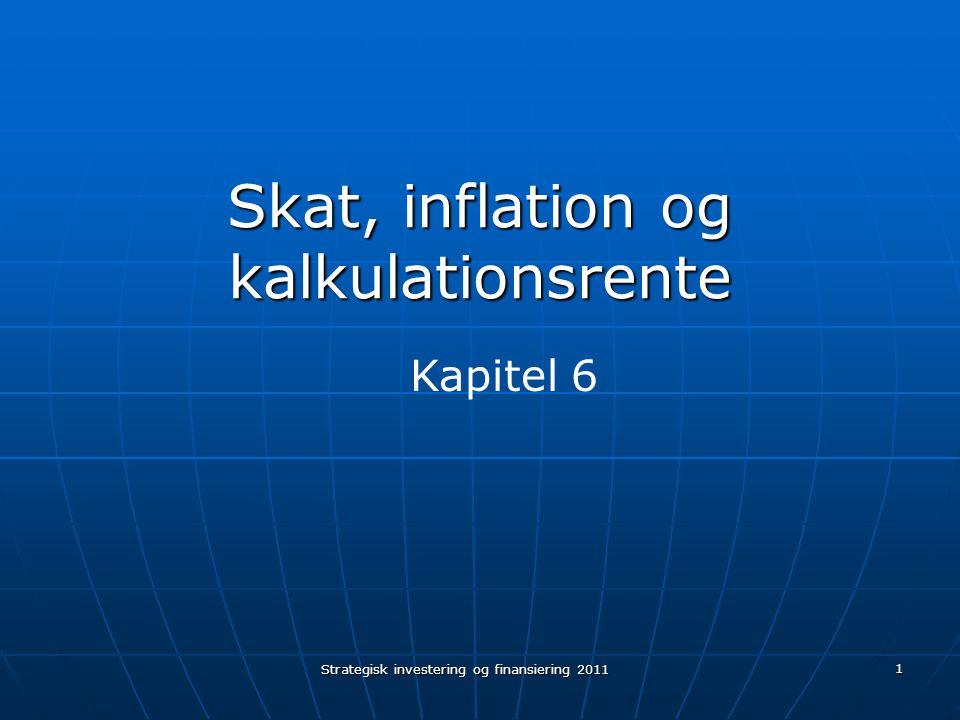 Skat, inflation og kalkulationsrente