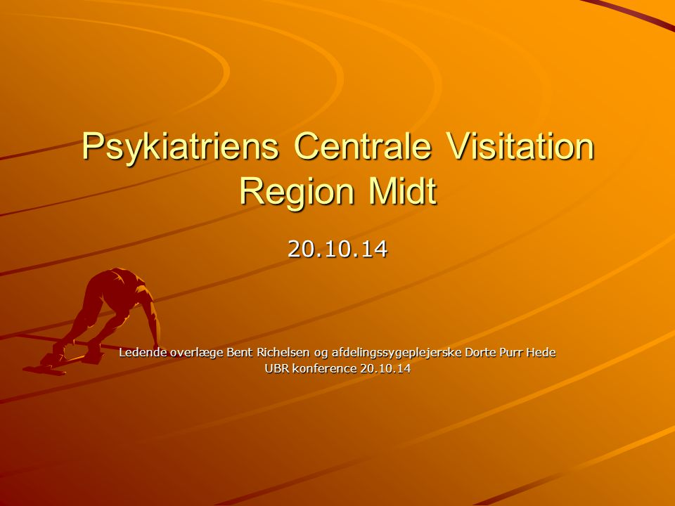 Psykiatriens Centrale Visitation Region Midt