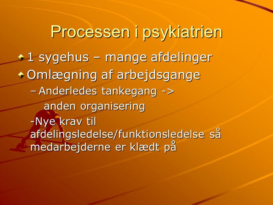 Processen i psykiatrien