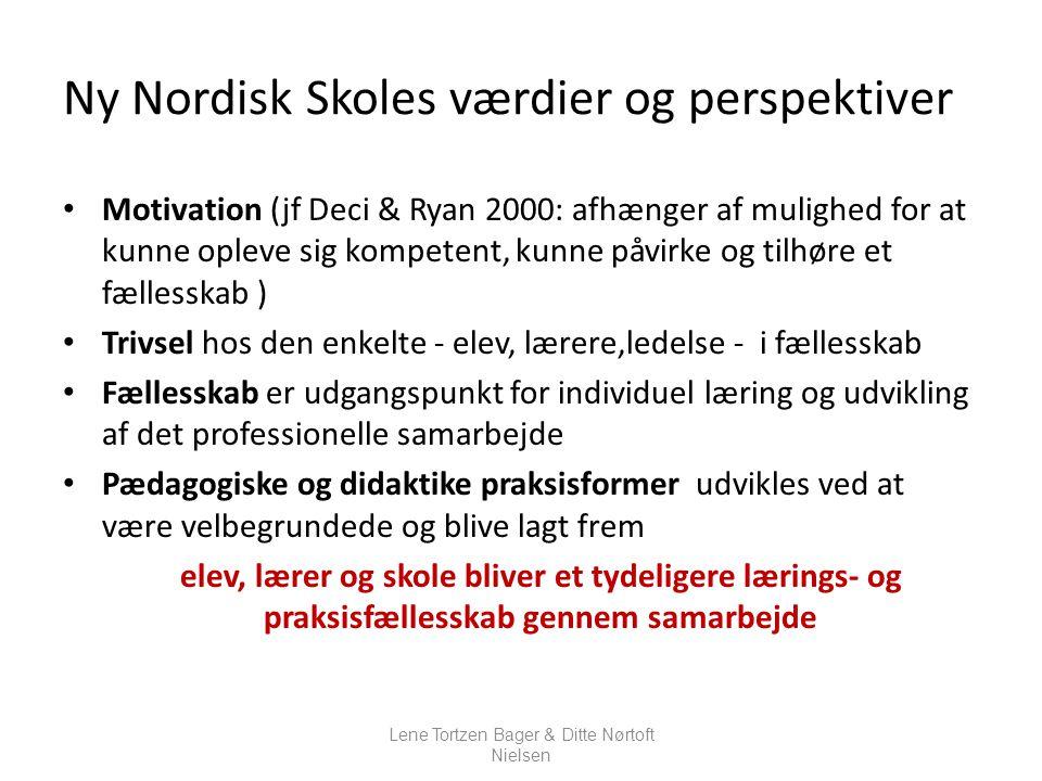 Ny Nordisk Skoles værdier og perspektiver