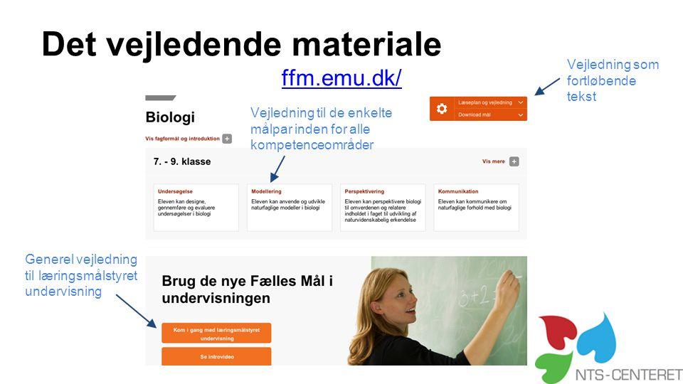 Det vejledende materiale ffm.emu.dk/