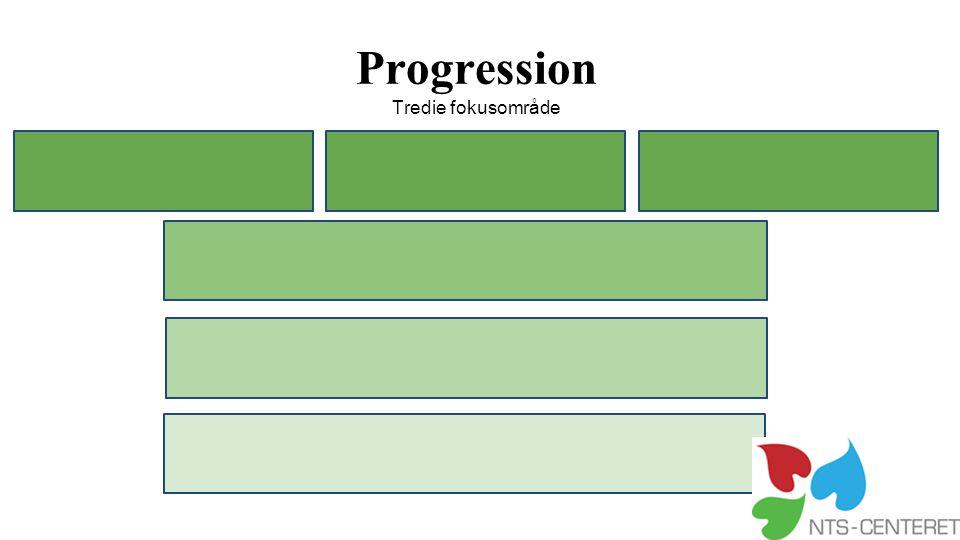 Progression Tredie fokusområde