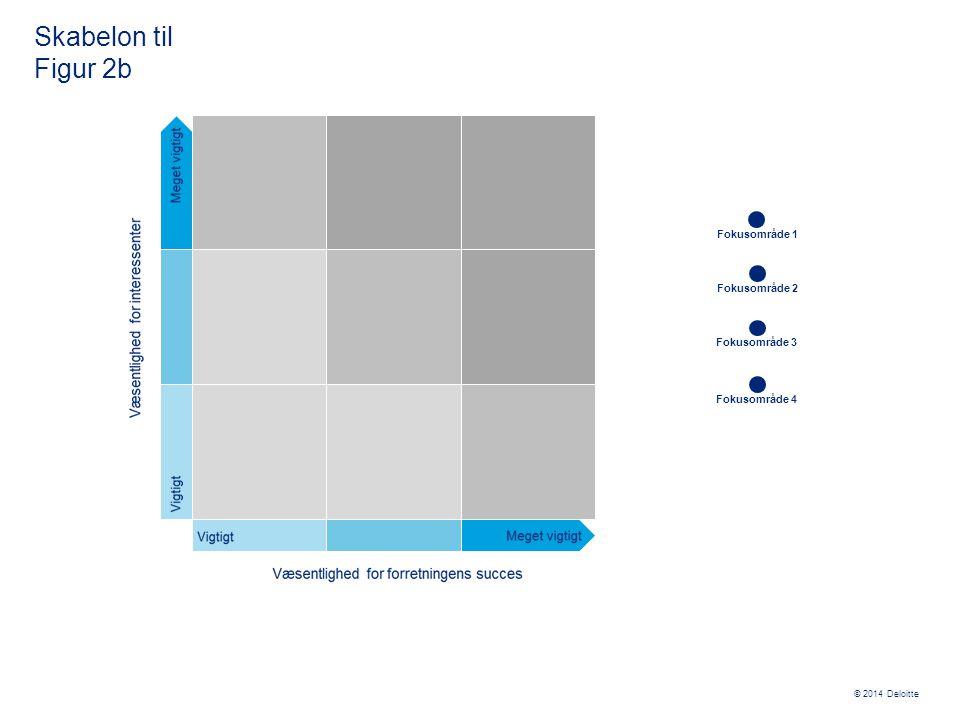 Skabelon til Figur 2b Fokusområde 1 Fokusområde 2 Fokusområde 3