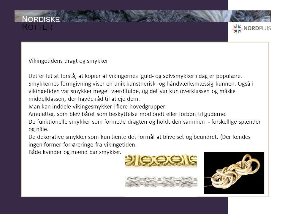 Vikingetidens dragt og smykker