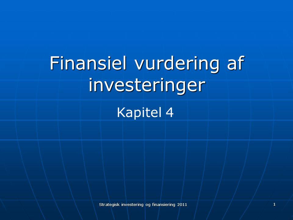 Finansiel vurdering af investeringer