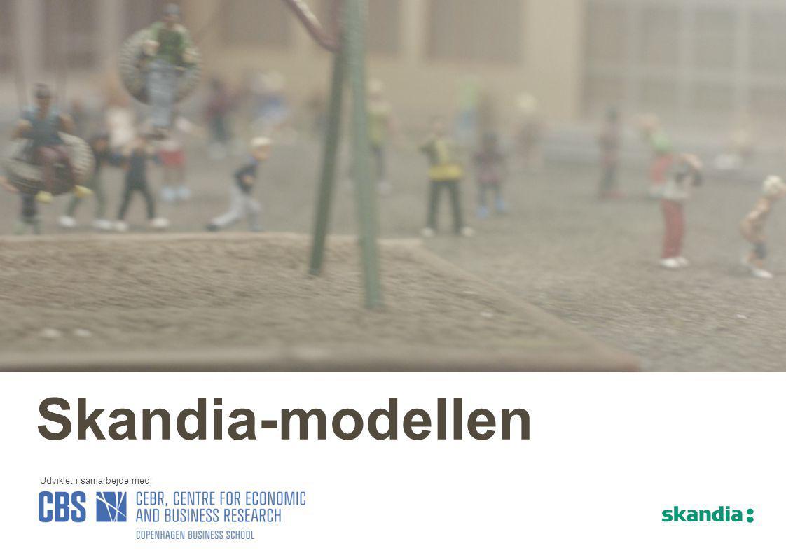 Skandia har prioriteret at udvikle en model som sætter os i stand til at vise de langsigtede økonomiske effekter af forebyggende indsatser.