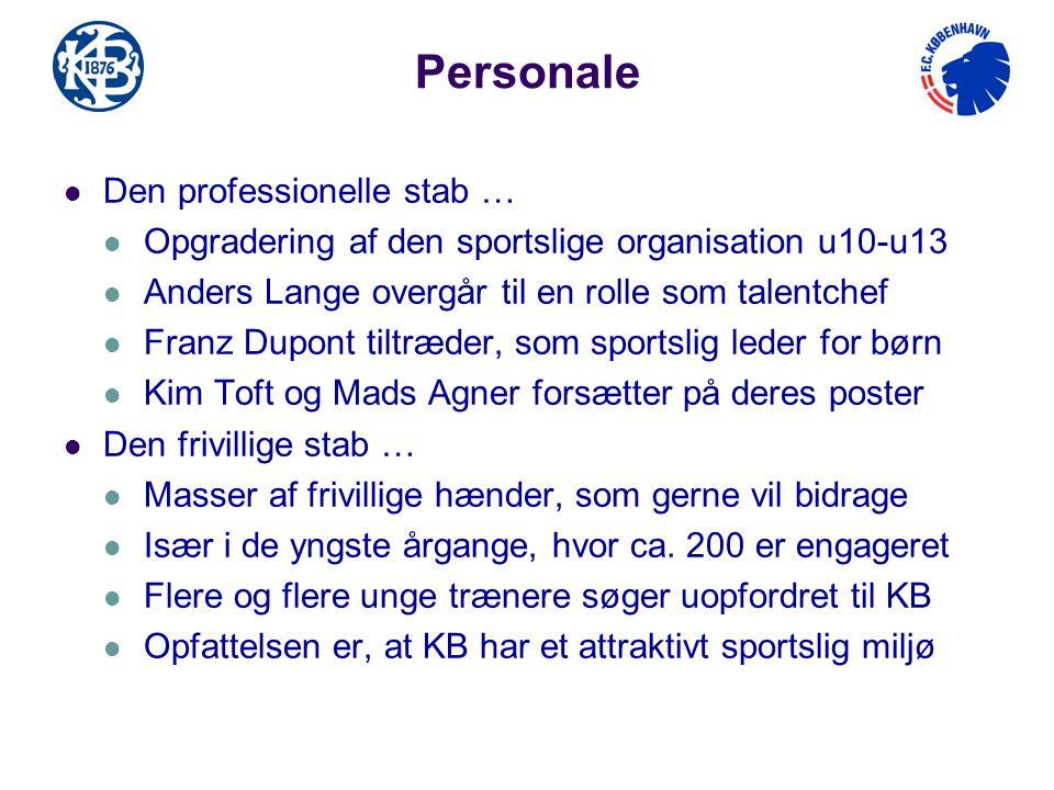 Personale Den professionelle stab …
