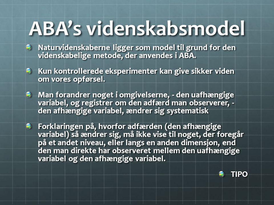 ABA's videnskabsmodel