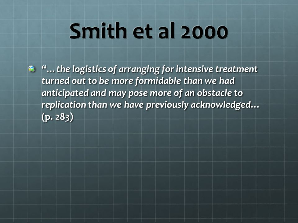 Smith et al 2000
