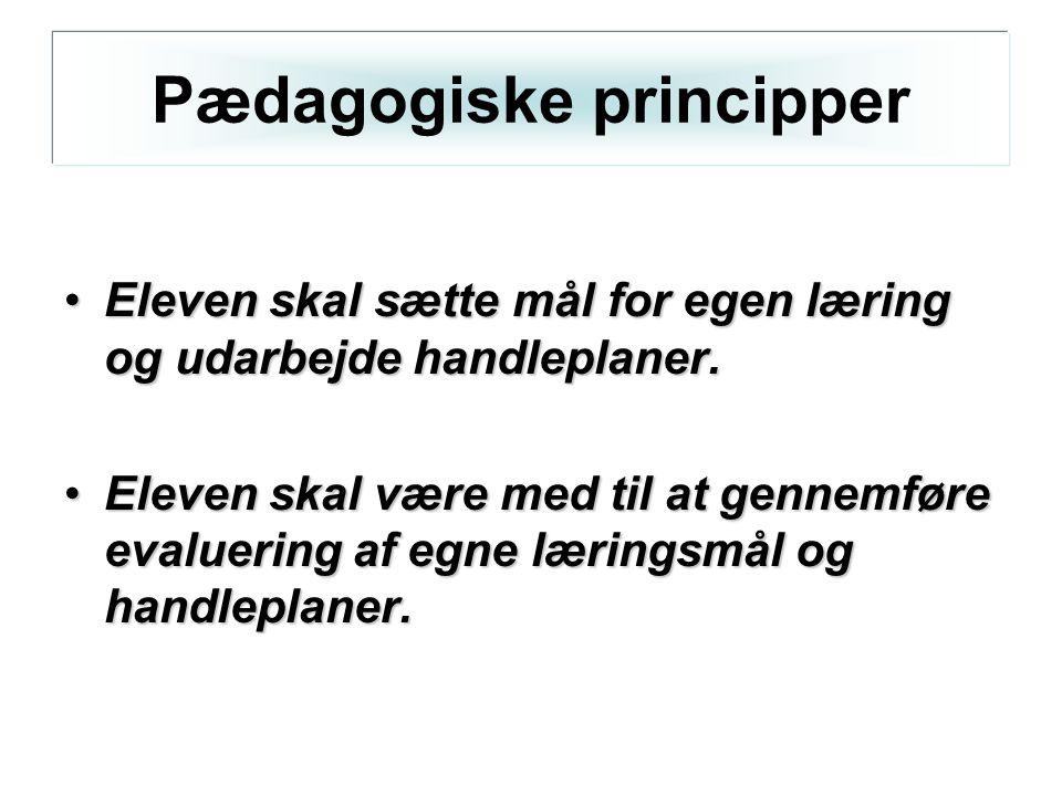 Pædagogiske principper