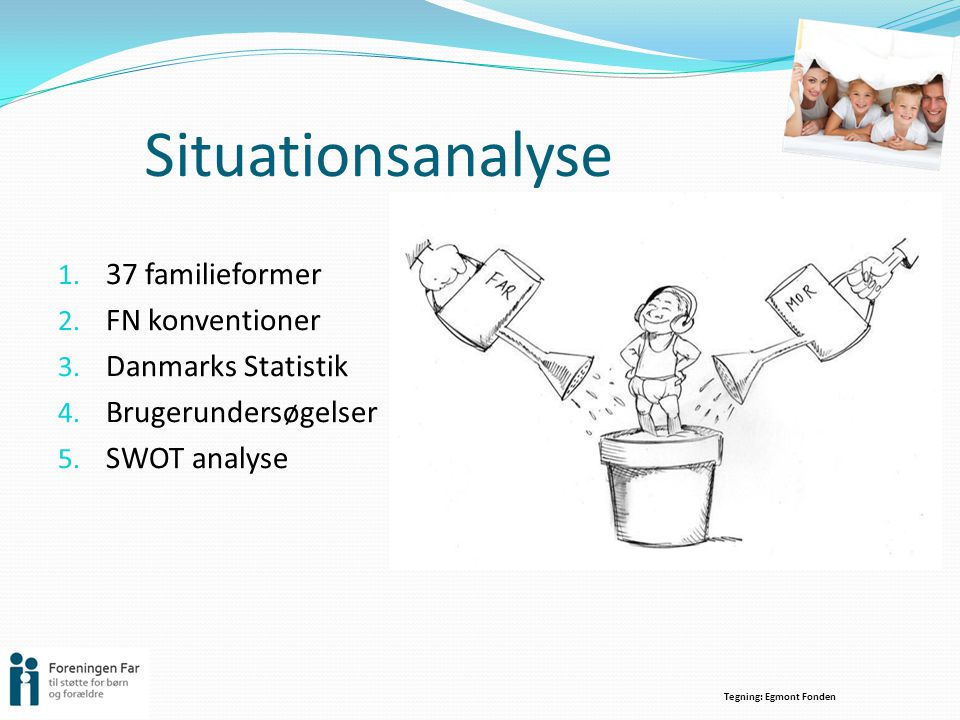 Situationsanalyse 37 familieformer FN konventioner Danmarks Statistik