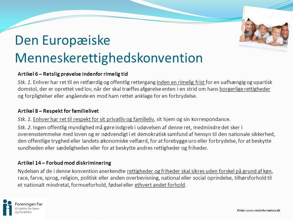 Den Europæiske Menneskerettighedskonvention