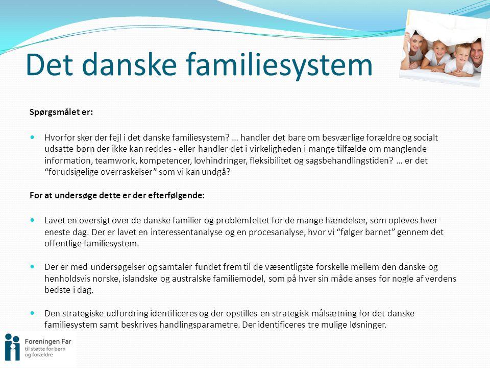 Det danske familiesystem