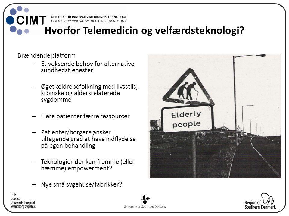 Hvorfor Telemedicin og velfærdsteknologi