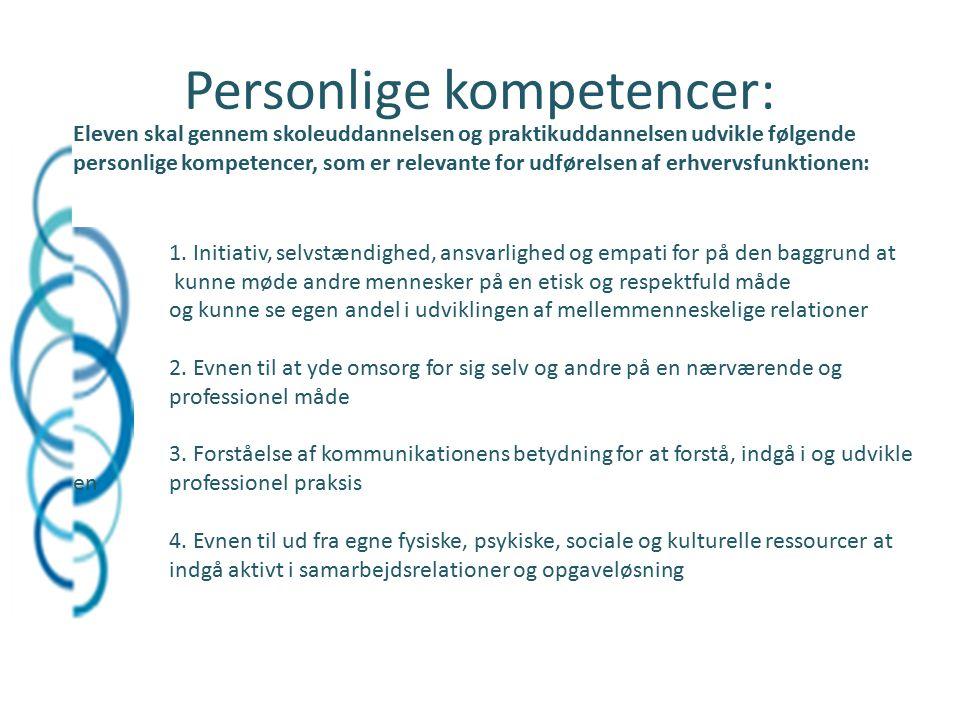 Personlige kompetencer: