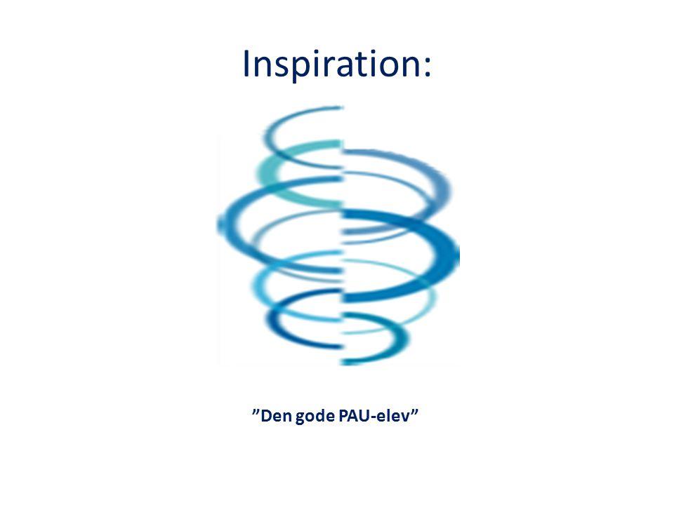 Inspiration: Den gode PAU-elev